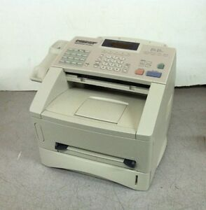 Brother Intellifax 4100e Laser Fax Fax4100c Unknown Pagcount No Handset No Toner
