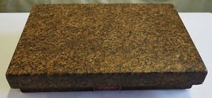 Herman 12 X 18 X 4 1 4 Granite Plate Salt Pepper 2 Ledges