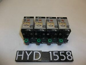 Lot Of 4 Polylog Mem7p10 Pneumatic 4 way Valve Unit hyd1558