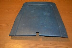 71 Ford Mustang Mach 1 Blue Plastic Seat Back Cover Left Or Right Front