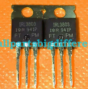 20pcs 50pcs 100pcs Irl3803 To220 Ir New And Genuine Transistor Wholesaler