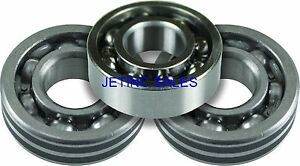 Crankshaft Bearing Set For Stihl Ts410 Ts420 4 Pcs Fits All Models