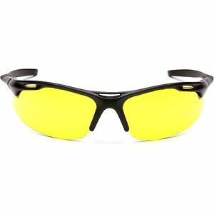 Pyramex Avante Safety Glasses With Amber Lens Black Frame