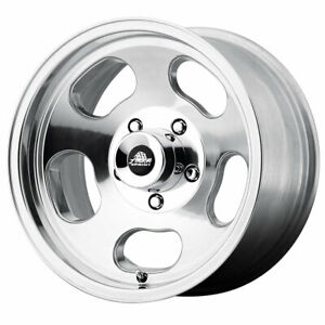 American Racing Vna69 Ansen Sprint Rim 15x8 5x5 Offset 0 Polished Qty Of 4