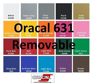 Oracal 631 20 Rolls 12 x 24 Adhesive Vinyl craft Hobby sign Maker cutter