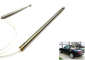 Power Antenna Aerial Cable Mast Oem Replacement For 98 05 Mazda Mx5 Nb Miata