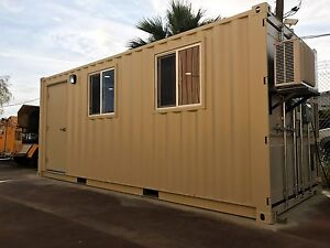 20 Foot Office In Refurbished Shipping Container