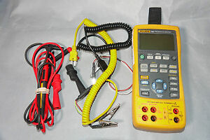 Fluke 726 Ma Rtd Ohm Voltage Freq Current Pressure Process Precision Calibrator