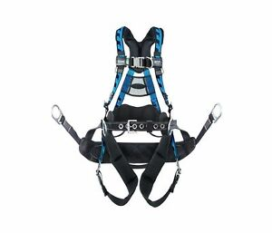 Miller Act qcbcub Aircore Tower Climbing Harness With Steel Hardware 400 Lb Cap