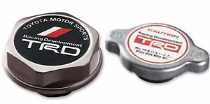 Toyota Trd Radiator Cap And Oil Cap Genuine Oem Oe