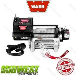 86260 Warn Vr12000 12 000 Lbs Electric Self Recovery Winch With Wire Rope