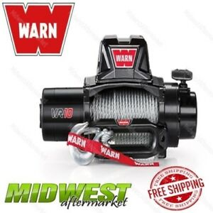 Warn Vr10 10k Lb Rated Iron Hawse Fairlead 90 X3 8 Steel Rope Recovery Winch