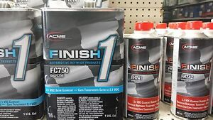 1 Gallon Kit Finish 1 Satin Clear Coat Finish1 Fc750 And Fh742