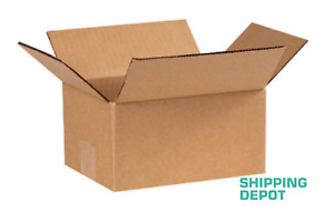 1 200 8x6x4 Corrugated Cardboard Packing Shipping Mailing Moving Carton Boxes