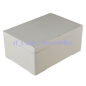 Waterproof Plastic Electronic Project Box Enclosure Case Big Diy 265 185 115mm