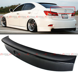 For 2006 13 Lexus Is250 Is350 Isf Wa Style Jdm Duck Bill Rear Trunk Spoiler Wing