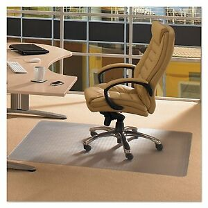 Office Desk Chair Mat With Gripper Back 46 X 60 Carpet Roll Floor Computer