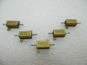 New Lot Of X 20 Dale Rer65f24r9r Resistor 24 9 Ohm 10w 1 Aluminum Housed