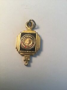 Antique Westminster High School Necklace Charm Rare Collectible