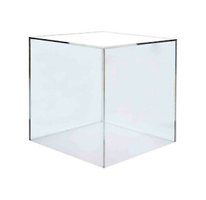 Acrylic 16 Jewelry Cube Riser Display Box 5 Sided Lot Of 2