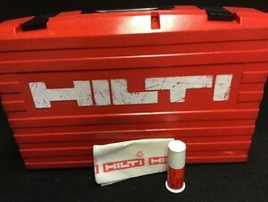 Hilti Te 76 Case only Case Preowned Free Grease Quick Ship
