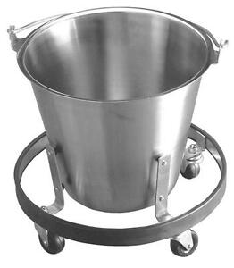 Stainless Steel Kick Bucket Stand Medical Veterinary New