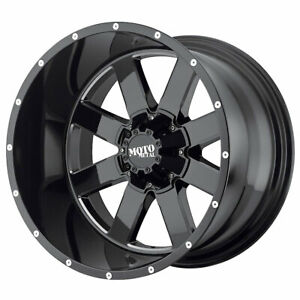 Moto Metal Mo962 Rim 18x12 8x6 5 Offset 44 Black milled Accents qty Of 4