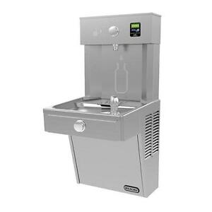 Elkay Lvrc8wsk Filtered Vandal Resistant Ezh2o Bottle Filler Drinking Fountain