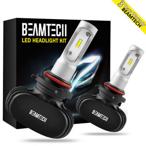 Beamtech Csp 9005 Hb3 Led Headlight Bulb Conversion Kit 8000lm 50w 6500k Dc9 32v