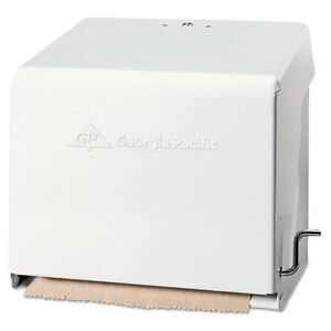Mark Ii Crank Roll Towel Dispenser 10 3 4 X 8 1 2 X 10 3 5 White