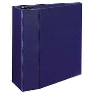 Durable Binder With Two Booster Ezd Rings 11 X 8 1 2 5 Blue