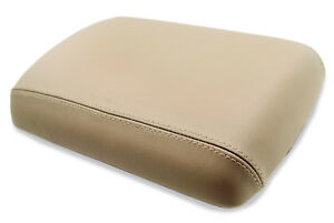 Center Console Armrest Cover Leather Synthetic Fit Nissan Pathfinder 05 12 Beige