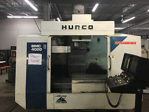 Hurco Bmc4020 Ht m Good Working Order 8000 Rpm Ct40