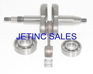 Crankshaft Kit Fits Stihl Ts460 Cutoff Saws W Bearings