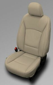 2015 2016 2017 Subaru Outback Prem Ivory Katzkin Leather Seat Replacement Covers