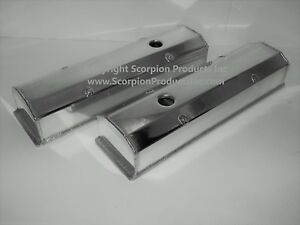 Chevrolet Sbc Valve Covers Fabricated Aluminum Racing 283 327 350 383 400 Chevy