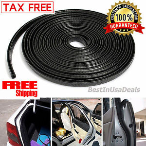 13ft Car Auto Lock Rubber Seal Trim Molding Strip Door Edge Protect All Weather