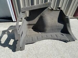 03 Acura Rsx Base Model Type S Rear Lh Trunk Carpet Trim