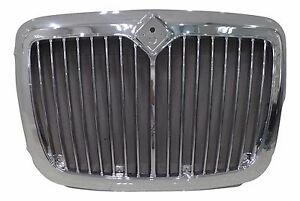 International Prostar Grille W Bug Screen Chrome