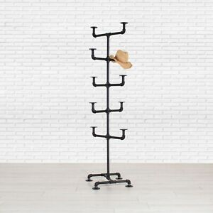 Industrial Pipe Hat Rack Display Stand By William Robert s Vintage