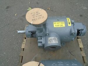 Nash Vacuum Pump Liquid Ring Vacuum Pump Sc 5 100 Rebuilt With Warranty