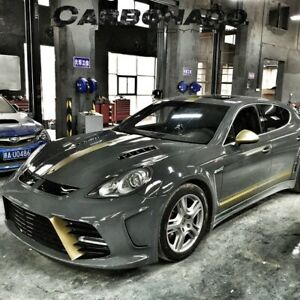 2010 2013 Panamera 970 Msy Style Full Wide Body Kit For Porsche 10pcs