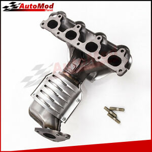 Exhaust Manifold With Catalytic Converter Fit 1996 2000 Honda Civic 1 6l Front