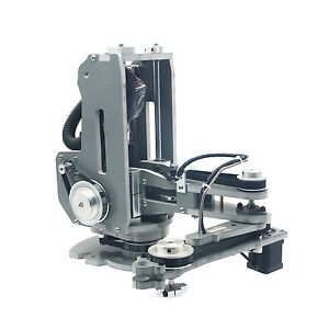 Assembled Scara Robot Mechanical Arm Hand Manipulator 4 Axis With Stepper Motor