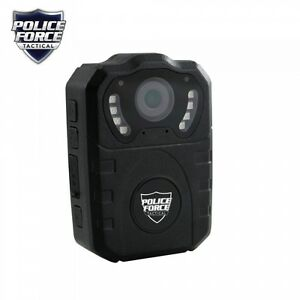 Police Force Tactical Body Camera Pro Hd Dash Cam 32gb One Touch remote Activate
