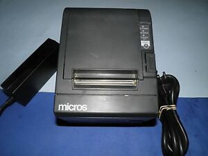 Micros Epson Tm t88iii M129c Thermal Pos Receipt Printer Serial