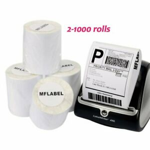 2 1000 Dymo 4xl Direct Thermal Shipping Labels 4x6 1744907 Compatible 220 roll