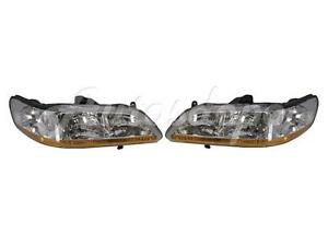 For 2001 2002 Honda Accord Sedan Coupe Headlight Combination Lh