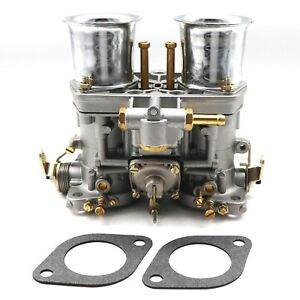 New Carburetor For Volkswagen Beetle 44 Idf Weber 2 Barrel Jaguar Porsche Carb