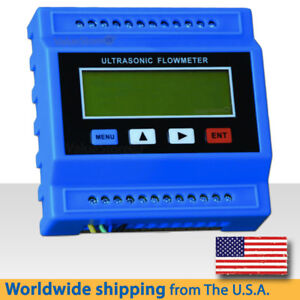 Tuf 2000m Ultrasonic Flow Meter With Transducers Tm 1 Pipe Size 1 97 To 27 5